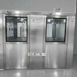 不锈钢风淋室定制厂家 广州沃霖 专业定制单人双人风淋室