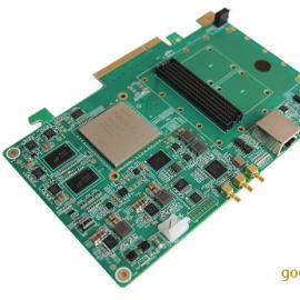基于PCIE架构的FPGA+FMC+DDR3的信号采集PCIE载板