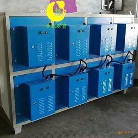 等离子UV光解一体机 喷漆房漆雾净化设备工业油烟净化器废气处理