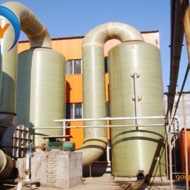 江苏2吨锅炉玻璃钢脱硫塔@首阳生产厂家SY-TL-2设计报价