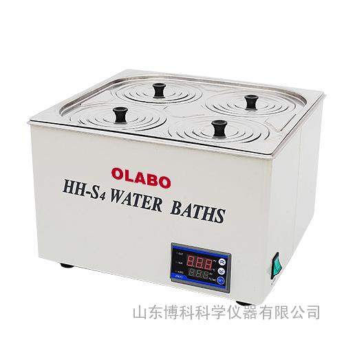 恒温水浴锅/电热恒温水浴锅*双列四孔HH-S4