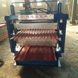 三层压瓦机生产厂家@840-850-900三层压瓦机价格