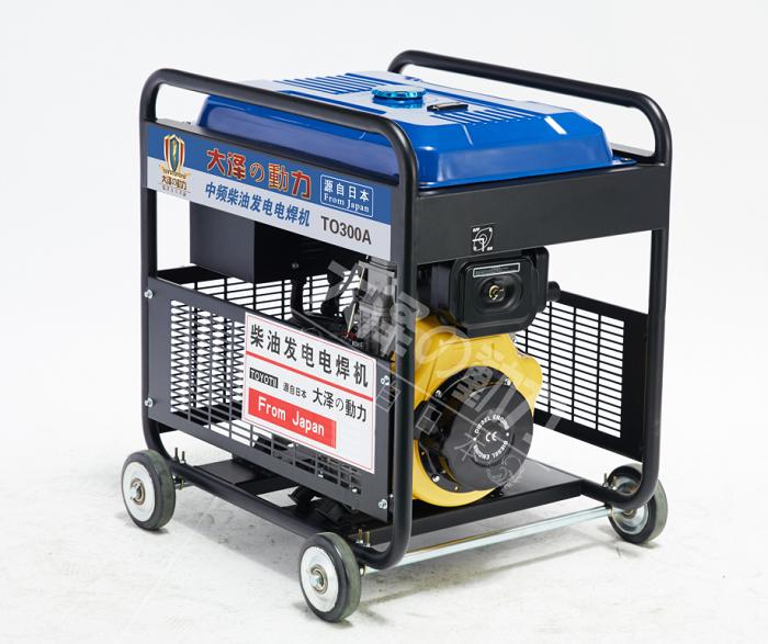 300A柴油发电电焊机焊接发电一体用机