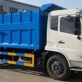 压缩垃圾站拖垃圾块厂家推荐-10吨12吨对接式垃圾车价格