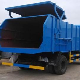 10吨压缩式对接垃圾车厂家报价,10方国五对接式垃圾运输车价格