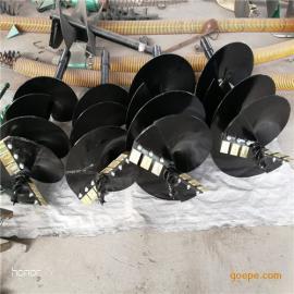 工程建筑机械配件挖坑机钻头,螺旋杆,地钻