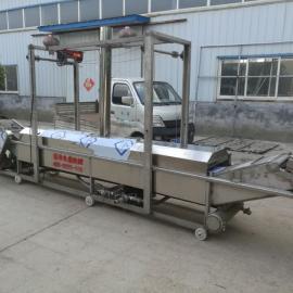 燃气全自动油炸机流水线 油炸机生产线
