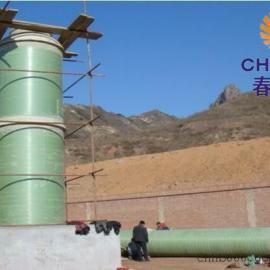 菏泽3台4吨砖厂锅炉玻璃钢脱硫塔厂家出售价低