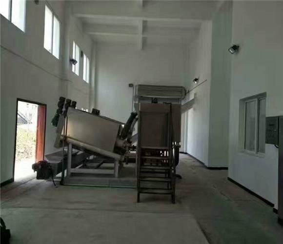 食品厂叠螺污泥脱水机