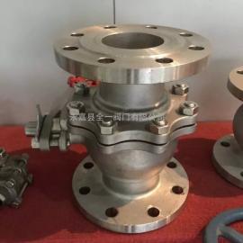 Q41H-16P-DN15不锈钢金属硬密封球阀