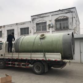 延吉污水提升泵站厂家 全自动化智能地埋式污水提升泵站