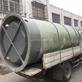 大 庆污水提升泵站厂家 预制泵站玻璃钢井筒污水处理设备