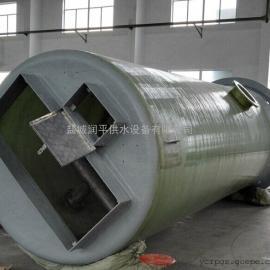 地埋式一体化泵站 玻璃钢污水提升泵站