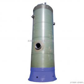 黑 河污水提升泵站厂家 预制泵站玻璃钢井筒污水处理设备