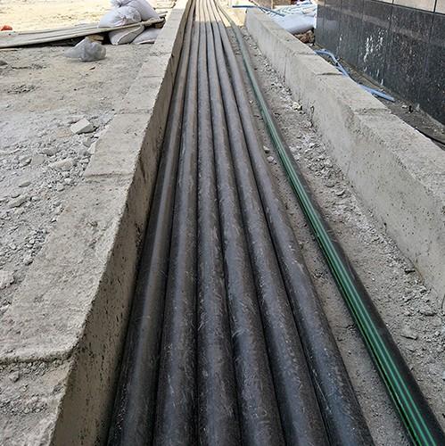 盘锦加油站复合输油管改造