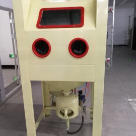 手动加压喷砂机铸件清理
