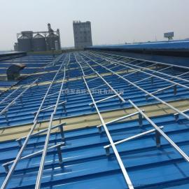 彩钢瓦屋面提角度光伏铝合金支架