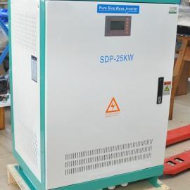 供应带市电互补功能有欧洲CE认证的太阳能离网逆变器SDP-25KW