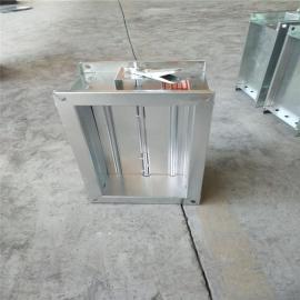 镀锌板一体式手动风量调节阀厂家