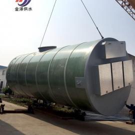 广西成套地埋式一体化提升泵站厂家技术