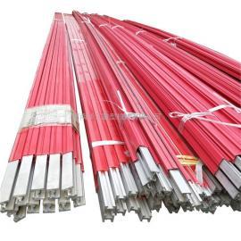 桥式单梁供电柔性滑触线 3极12方铝芯滑导线 游乐场供电线