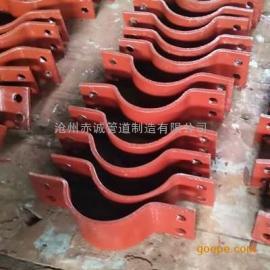 直销A9双排螺栓管夹生产厂家报价