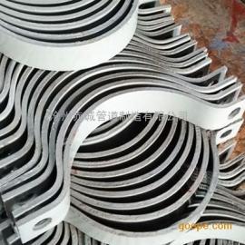 加工A13双螺栓管卡(保冷管用)生产厂家近期报价