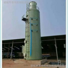 燃煤工业锅烟气脱硫塔,耐高温的脱硫除尘器,玻璃钢脱硫塔