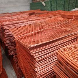威海一张3.5公斤钢板钢笆片实体厂家――高空踏板钢笆片结实耐用