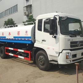 10吨洒水车价格 10吨水罐车多少钱 东风10吨喷洒车厂家配置