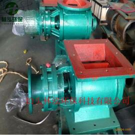 耐高温星型卸料器电动卸灰阀叶轮给料机星形灰阀链条卸料阀