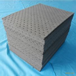 3mm化学品吸液垫片 灰色化学吸液棉吸液片 片状吸液垫 40cm*50cm