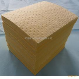 黄色4mm化学品液体吸附棉 工业 吸液棉吸液垫 危险液体专用棉