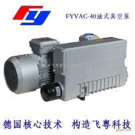 供应飞粤真空泵FYVAC-0040油式旋片真空泵面膜包装机真空泵
