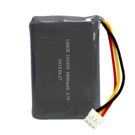 3.7V 1880mAh 103450手持式电化学检测仪锂电池组