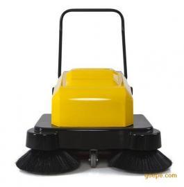 明诺MN-P100A电动手推式扫地机 工厂车间保洁用电动扫地机