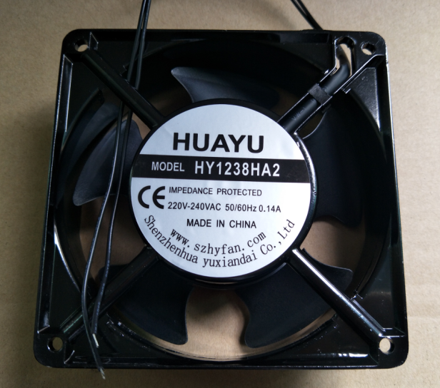 HY1238HA2 排风扇 抽风机 外径12CM 12公分 120豪米 220V电压