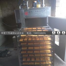 华钢牌豆干烟熏炉 老家熏豆腐干设备