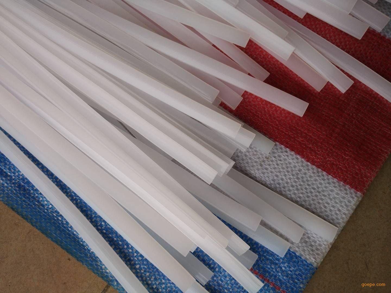 白色PE塑料焊条化工行业配套使用 厂家直销 专卖