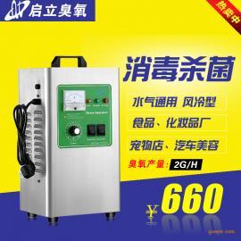 启立2G臭氧发生器 小型 宠物杀菌除螨 汽车美容臭氧消毒机