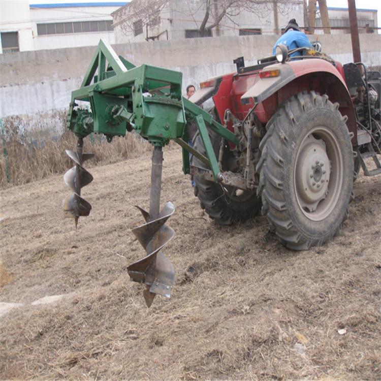 自走式挖坑机