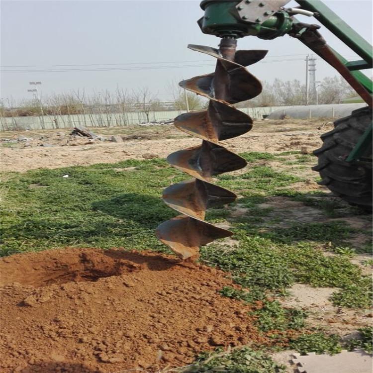 大马力栽树种树挖坑机