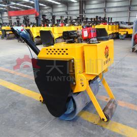 山西操作灵活的小型压路机 手扶单轮压路机厂家直销
