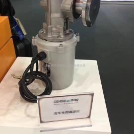 意大利TRANSTECNO防护等级IP67进口防水电机洗车设备专用减速机