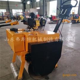 小型手扶式压路机型号大全 手推式单轮压路机厂家直销