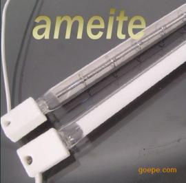 (反射光加热管)180镀半边反射半镀白卤素加热管=安美特发布