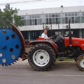山东润沃机械 圆盘式开沟机 可以打土沟、混凝土路面