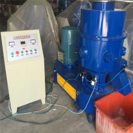 供应浙江德企150型塑料薄膜回收团粒机造粒机