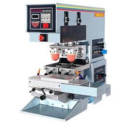 双色穿梭移印机转盘移印机2色移印机钢板移印机中型移印机