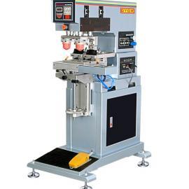 热销推荐GN-123AEL穿梭双色立式移印机 耐用密封移印机